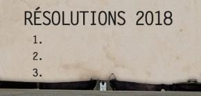 Résolutions littéraires 2018