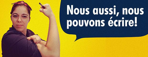 Journée de la femme, We can do it