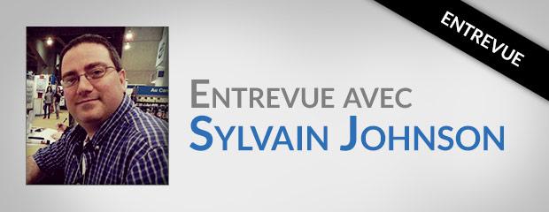 Entrevue avec Sylvain Jonhson, auteur